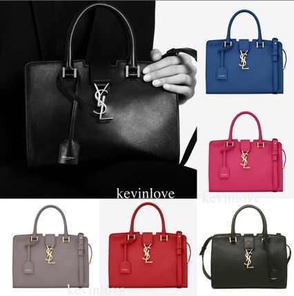 Longing SAINT LAURENT Monogram baby YSL line colors having