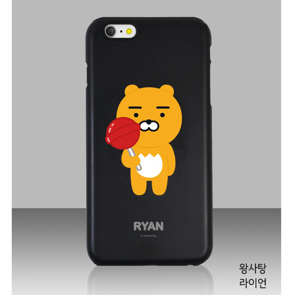 KAKAO FRIENDS Double Bumper Black Edition★PHONE  CASE★人気