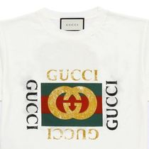 ☆ GUCCI  LOGO PRINTED COTTON T-SHIRT