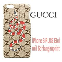 大人気★SNAKE【送料込・GUCCI】iphone 6-PLUS★GG Supreme