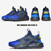 NIKE★AIR HUARACHE RUN ULTRA SE★ANTHRACITE/PARAMOUNT BLUE