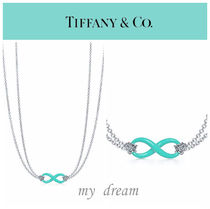 日本未入荷【Tiffany & Co】Infinity Pendant in Tiffany Blue
