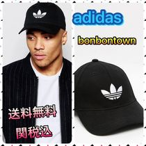 【国内発送/送関込】adidas Originals Trefoil Cap In Black