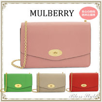 【MULBERRY】Small Darleyレザークラッチ 4color*関税込