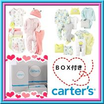 【carter's】ギフトに最適♪計18点セット+ギフトBOX付!!ベビー