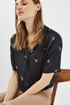 日本未入荷☆TOPSHOP☆Hummingbird Shirt