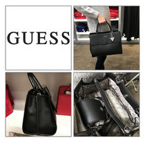 GUESS Tulsa Satchel VY647606 (BLACK)