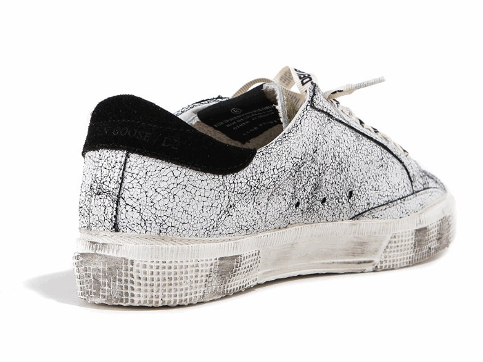 Golden Goose/正規品/EMS/送料込み 17 S/S MAY Row Top Sneakers