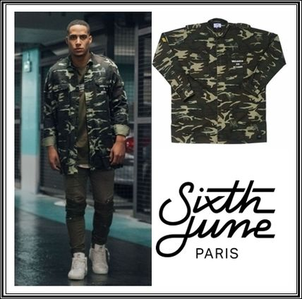 Sixth June camouflage * military shirt