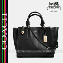 COACH大人気クロスビー☆CROSBY CARRYALL IN LEATHER 33545