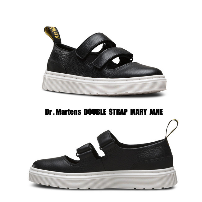 Dr Martens★DOUBLE STRAP MARY JANE★メリージェーン★黒