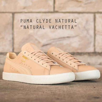 more photos ec984 35422 PUMA CLYDE NATURAL VACHETTA クライド バチェッタ タン