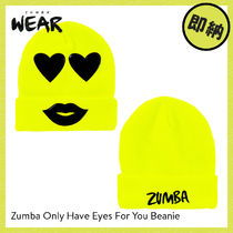ZUMBA(ズンバ) アクセサリー ZUMBA Only Have Eyes For You Beanie|ズンバ ニット帽 Yellow