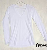 Fluxus L/S LOOSE FIT TEE White