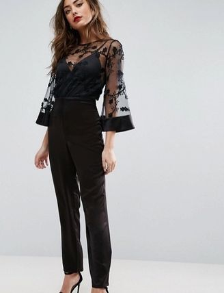 / ASOS sleeves lace jumpsuits