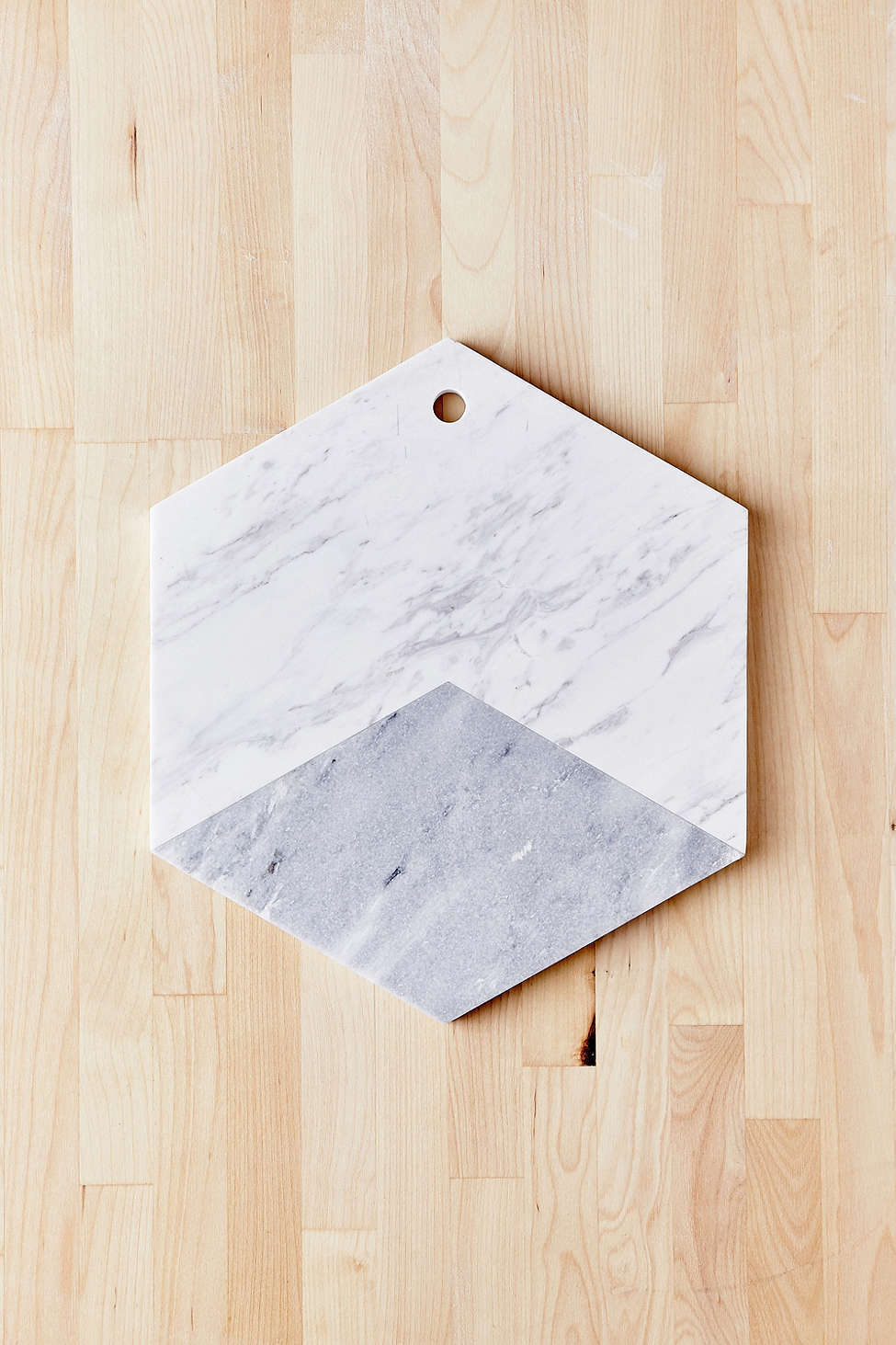 送込み_国内発送_UO*Marble Hexagon Cutting Board♪