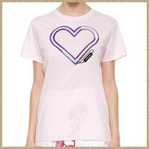 17SS新作【CARVEN】ハートプリント Tシャツ ピンク