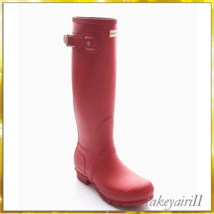 HUNTER sold out near tall boots / black