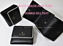 Kate Spade★COBBLE HILL TAVY 可愛いコンパクトサイズ財布♪