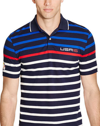 Ralph Lauren メンズ・トップス 【セール】POLO GOLF: US RYDER CUP ACTIVE-FIT POLO ポロシャツ(2)