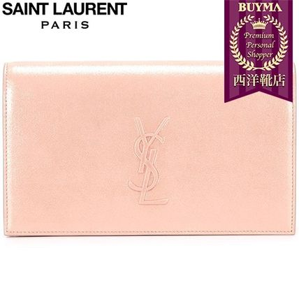 16/17秋冬入荷!┃SAINT LAURENT┃CLASSIC MONOGRAM CLUTCH