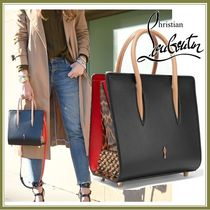 17SS★CHRISTIAN LOUBOUTIN PALOMA SMALL LEATHER TOTE 関税込
