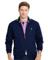 【セール】POLO GOLF: LINED MERINO WOOL SWEATER セーター