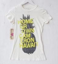 Cameron Hawaii(キャメロンハワイ) Tシャツ・カットソー HOME GROWN TEE OFF WHITE