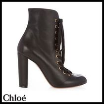 Chloe(クロエ)★Miles lace-up leather ankle boots★