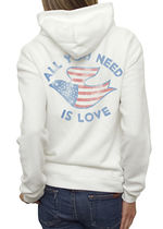 JUNK FOOD(ジャンクフード) パーカー・フーディ All You Need Is Love Vintage  Full Zip Up Hoodie