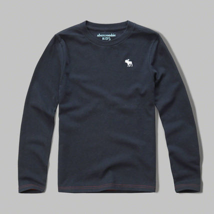 Abercrombie & Fitch Tシャツ・カットソー 本物保証!アバクロAbercrombie&Fitch長袖Tシャツkc02