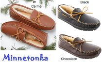セール!Minnetonka SHEEPSKIN MOOSE SLIPPER メンズ