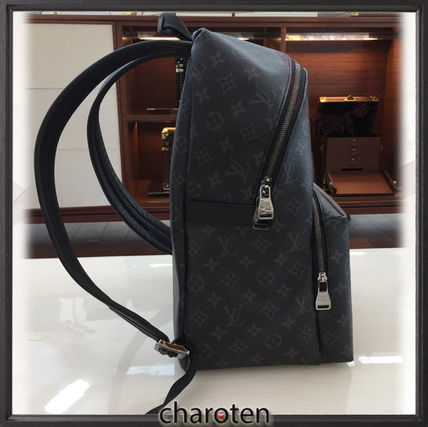 Louis Vuitton バックパック・リュック 【追跡付】新作・争奪戦☆モノグラムエクリプスバックパック(4)