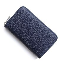 【LOEWE】財布☆ENGRAVED CALF NAVY BLUE★2017春夏新作♪