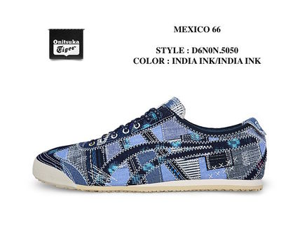 Onitsuka Tiger MEXICO 66 Super cute patchwork pattern