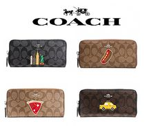 COACH♡NYCコラボ【ACCORDION ZIP WALLET IN SIGNATURE】
