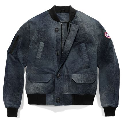 CANADA GOOSE ブルゾン 2017新作★カナダ限定★メンズ Faber Bomber Jacket 2色(4)