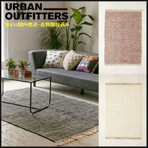 Urban Outfitters(アーバンアウトフィッターズ) ラグ・マット・カーペット 安心国内発送*Urban Outfitters* Kendal Jute フリンジラグ 3色