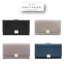 送料・関税無料!SMYTHSON GROSVENOR CONTINENTAL 長財布
