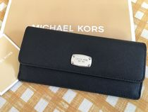 MICHAEL KORS★Jet Set Travel★Flat Wallet 薄型長財布★Black