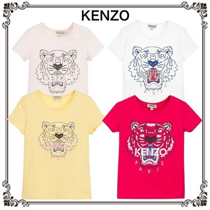 17th SS KENZO 6 months – 12-year-old tiger tee 4 color