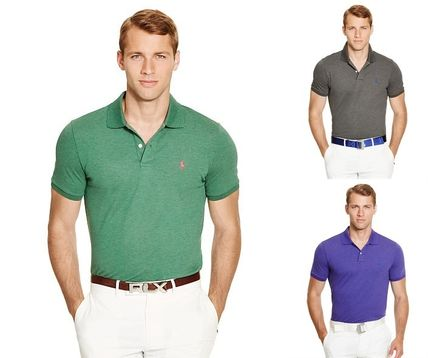 Ralph Lauren メンズ・トップス 【セール】POLO GOLF: CUSTOM-FIT STRETCH MESH POLO ポロシャツ