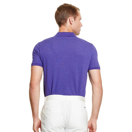 Ralph Lauren メンズ・トップス 【セール】POLO GOLF: CUSTOM-FIT STRETCH MESH POLO ポロシャツ(10)