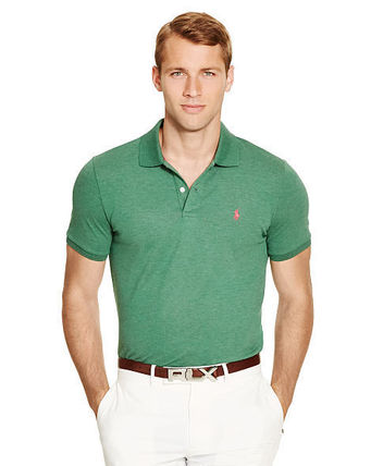 Ralph Lauren メンズ・トップス 【セール】POLO GOLF: CUSTOM-FIT STRETCH MESH POLO ポロシャツ(2)