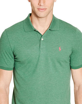 Ralph Lauren メンズ・トップス 【セール】POLO GOLF: CUSTOM-FIT STRETCH MESH POLO ポロシャツ(4)