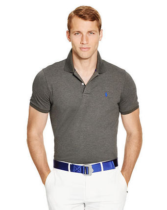 Ralph Lauren メンズ・トップス 【セール】POLO GOLF: CUSTOM-FIT STRETCH MESH POLO ポロシャツ(5)