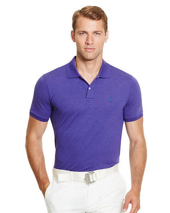 Ralph Lauren メンズ・トップス 【セール】POLO GOLF: CUSTOM-FIT STRETCH MESH POLO ポロシャツ(8)