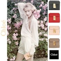 ☆Chloe Drew lamb leather wallet☆(クロエ 羊皮 財布)☆