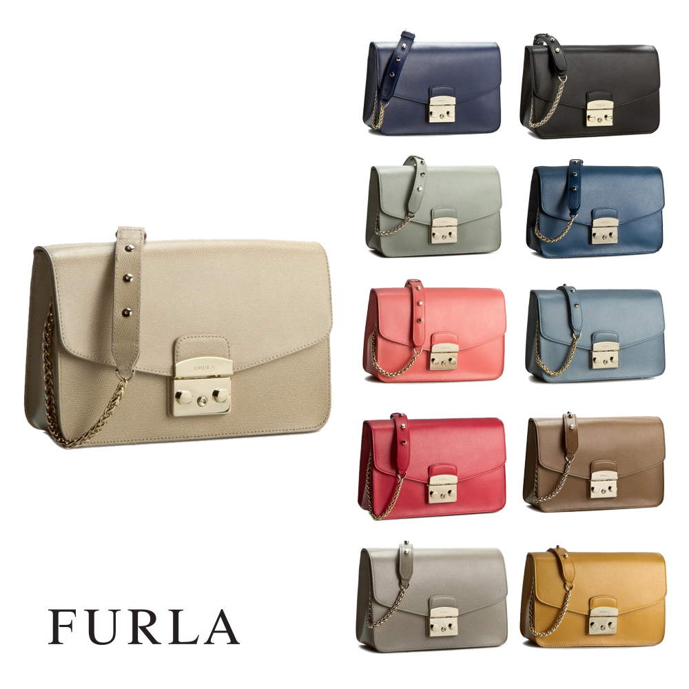 【即納/送料込】2017新作 FURLA METROPOLIS SHOULDER BAG