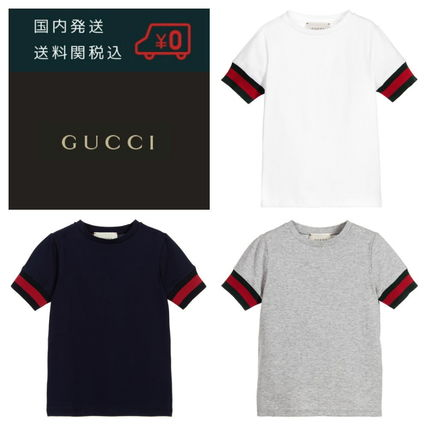 2017 ss adults also OK Gucci cotton T shirt age 4-12
